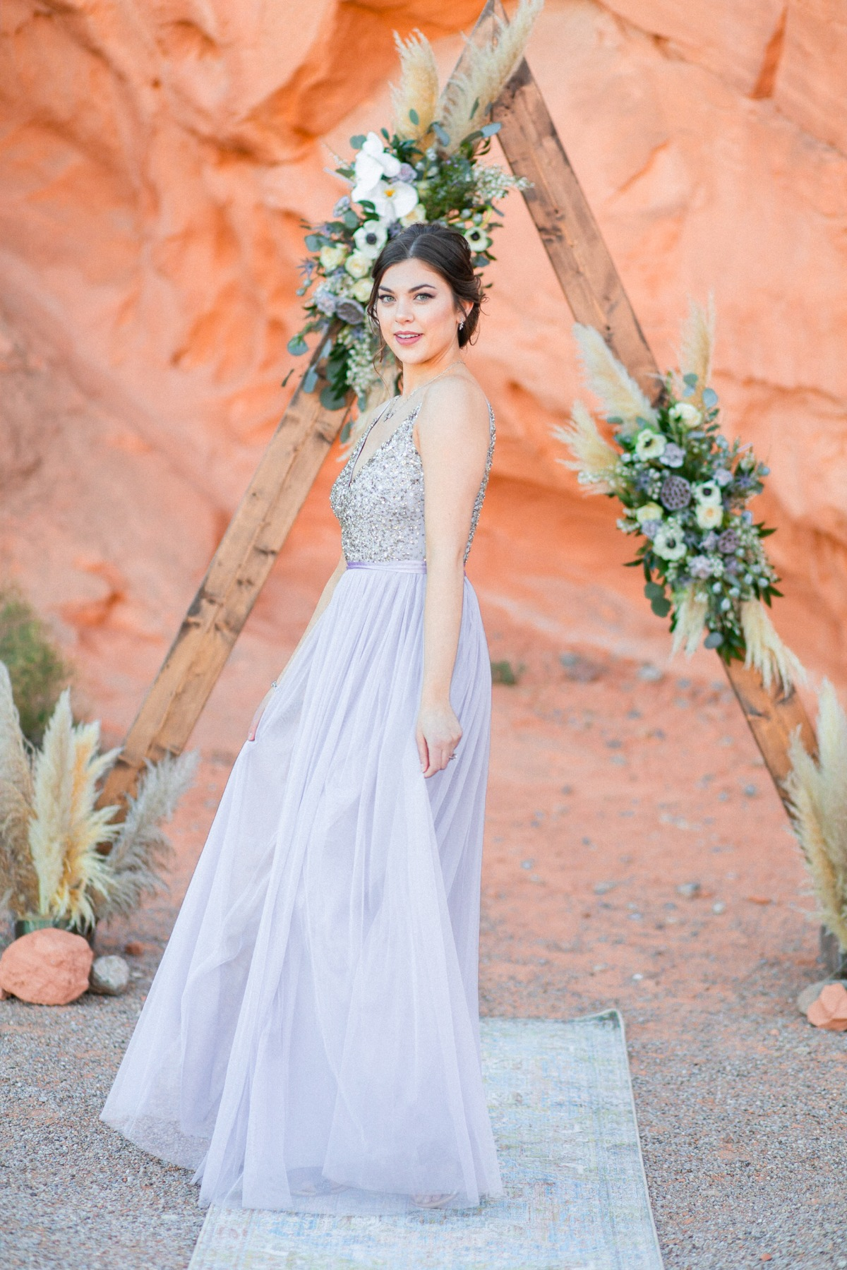 glamorous wedding dress from BHLDN
