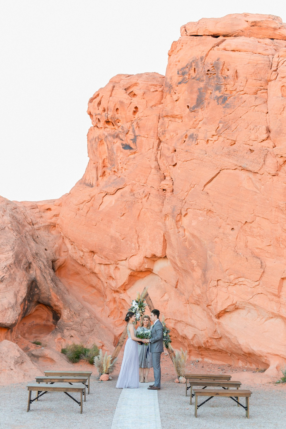 Valley of Fire wedding elopement