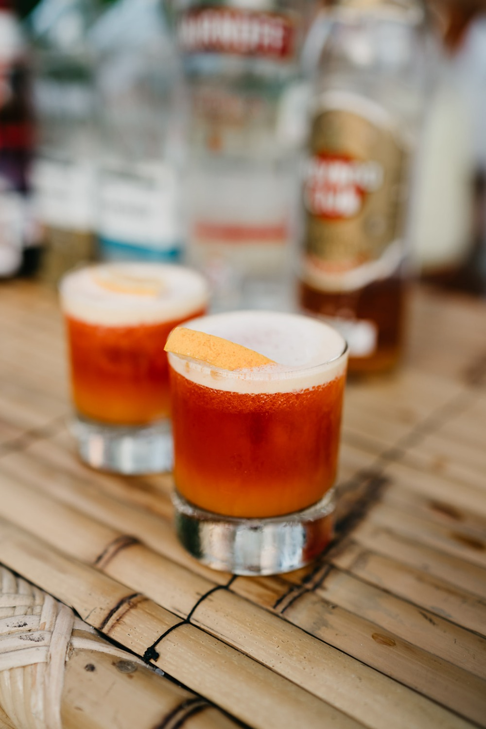Mexican inspired signature cocktail and