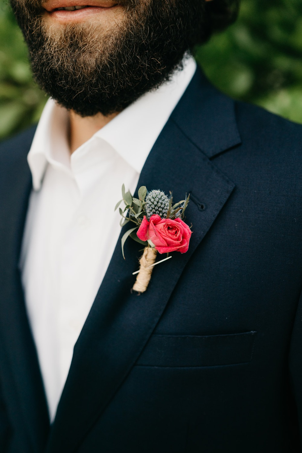 mini groom boutonnière ideas