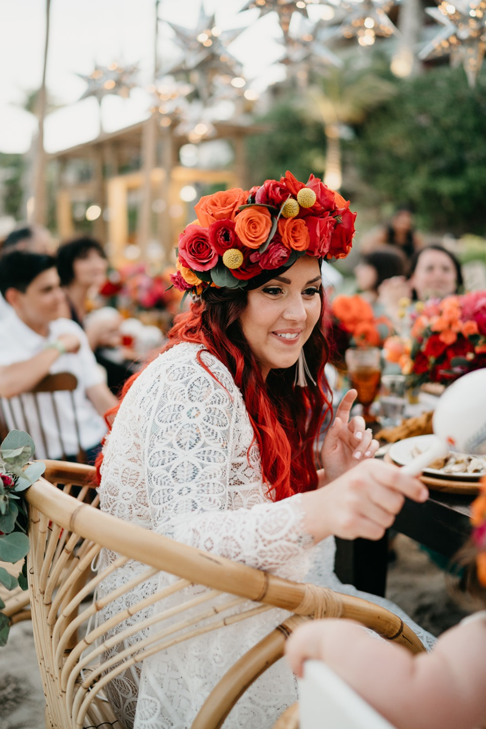 Frida Kahlo Inspired wedding reception