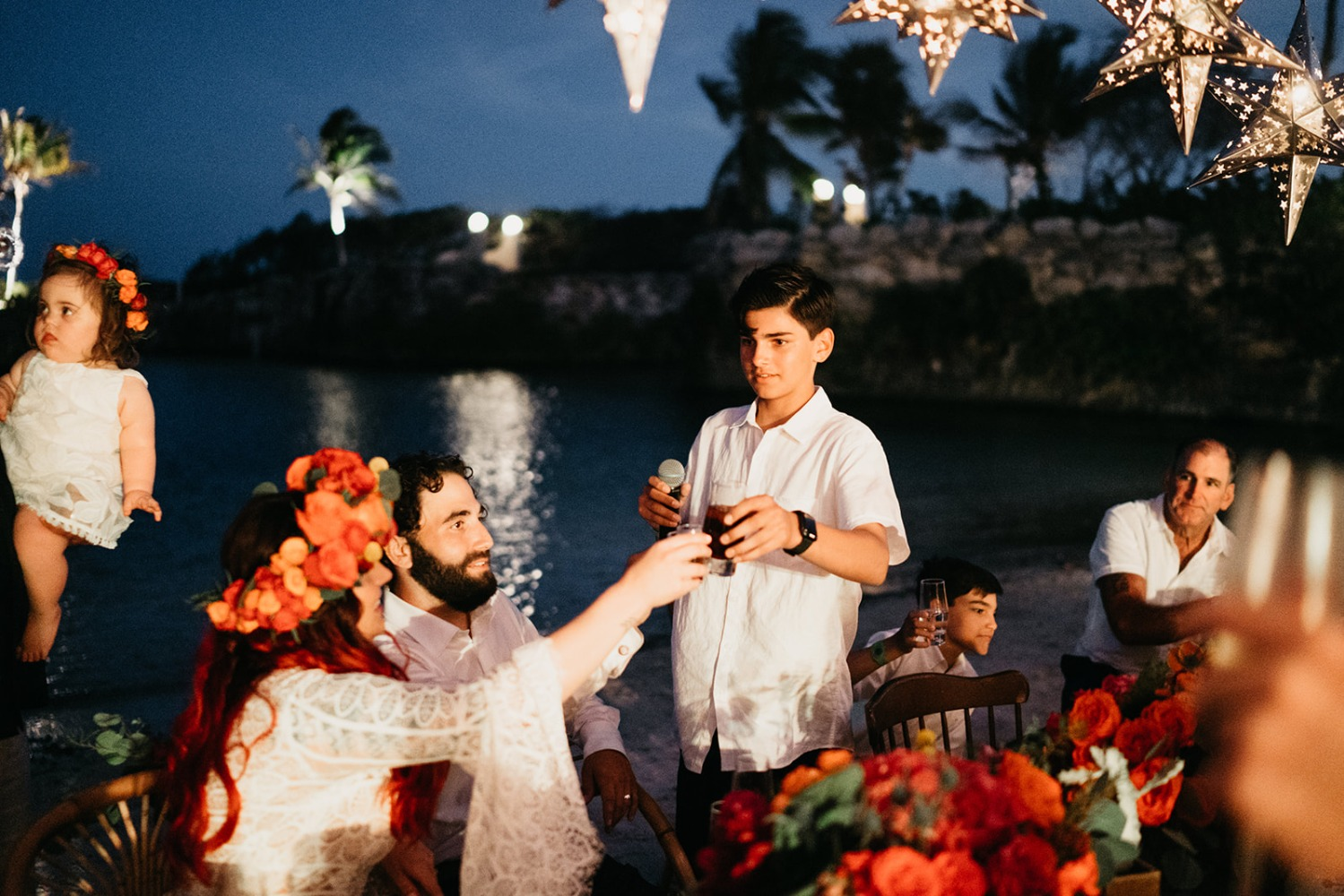 Mexico destination wedding at Hotel Xcaret Mexico