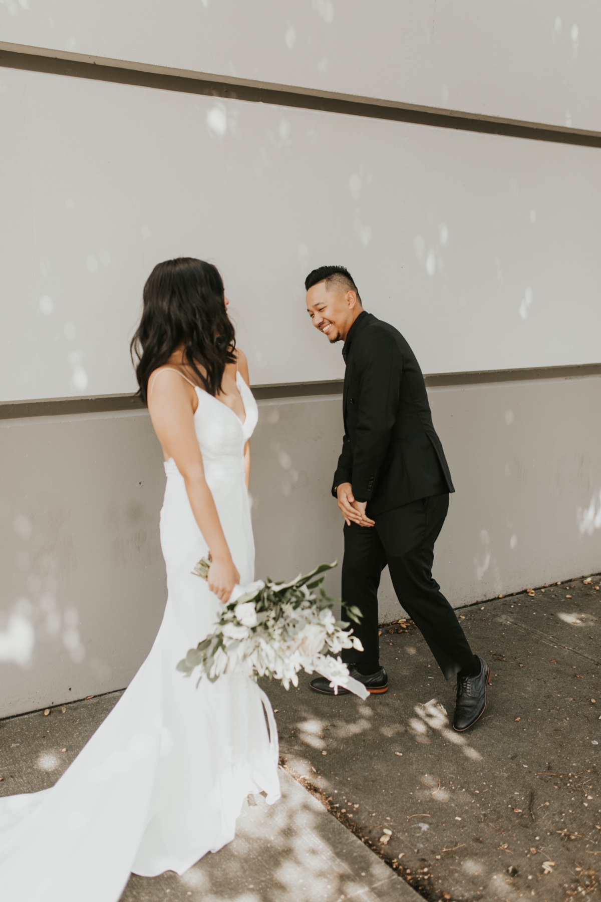 wedding first look photography ideas