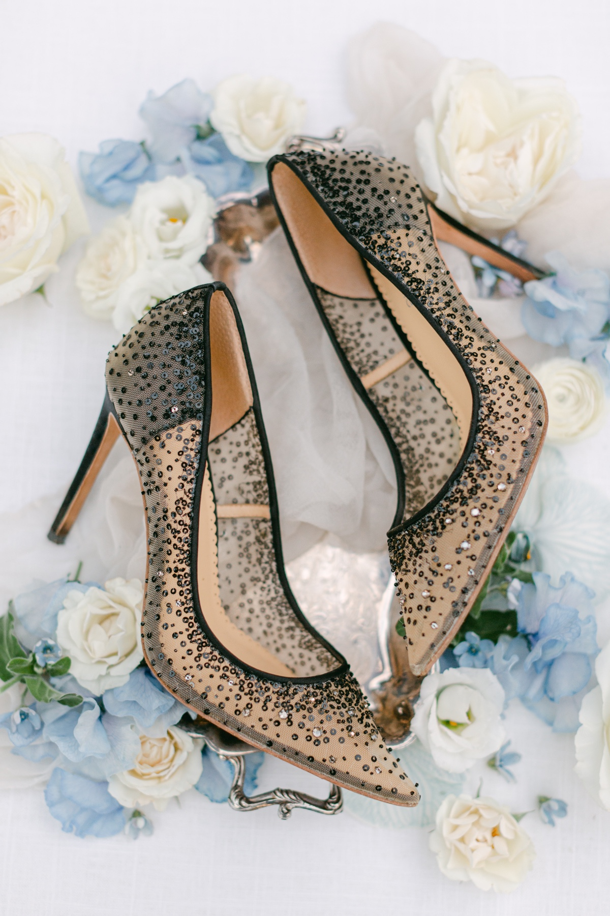black wedding shoes by Bella Belle Shoes