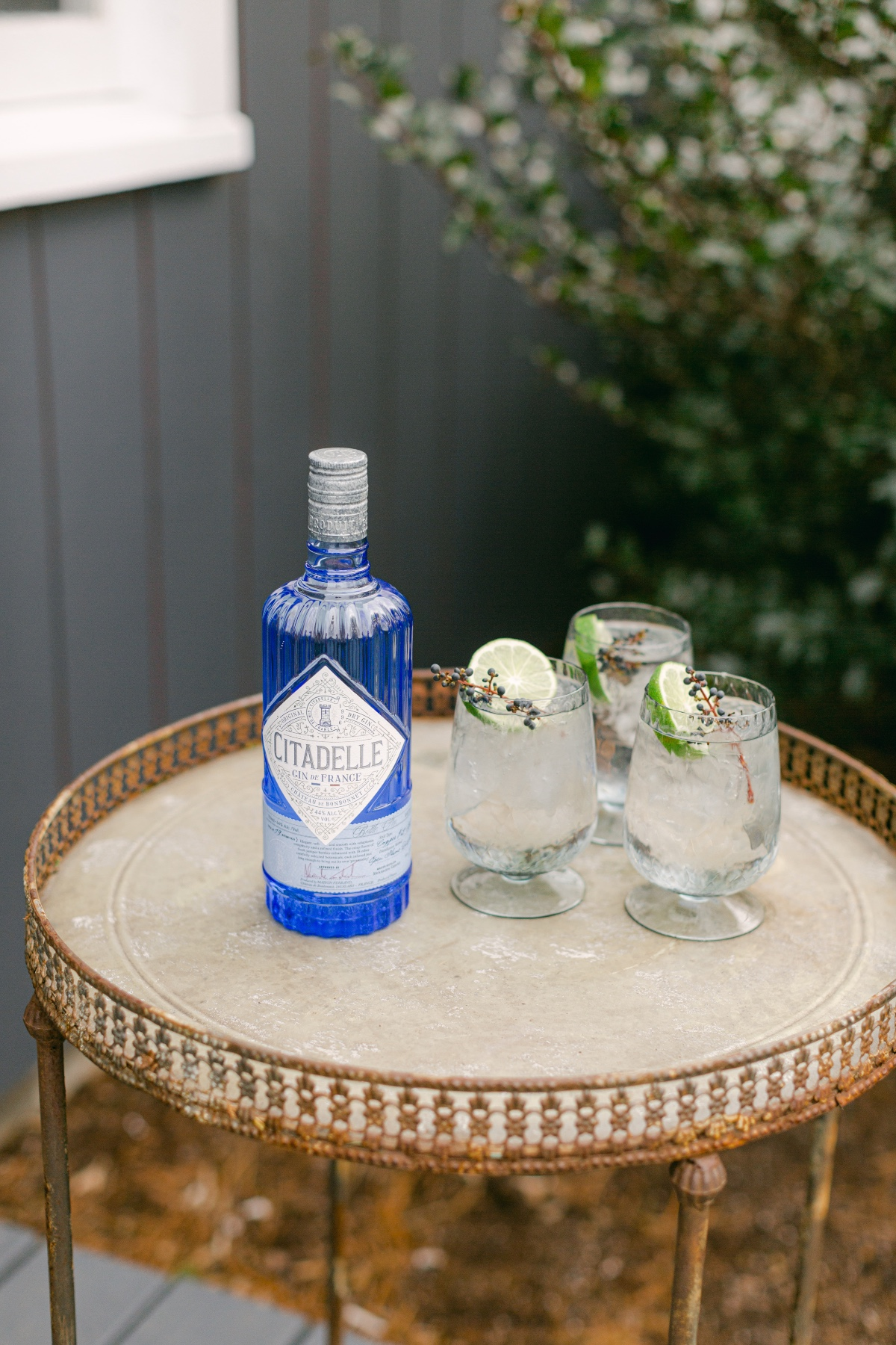 Signature wedding cocktail using Citadelle Gin