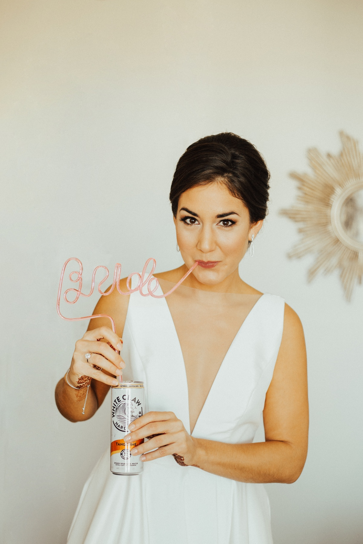 Bride with White Claw and Bride Straw