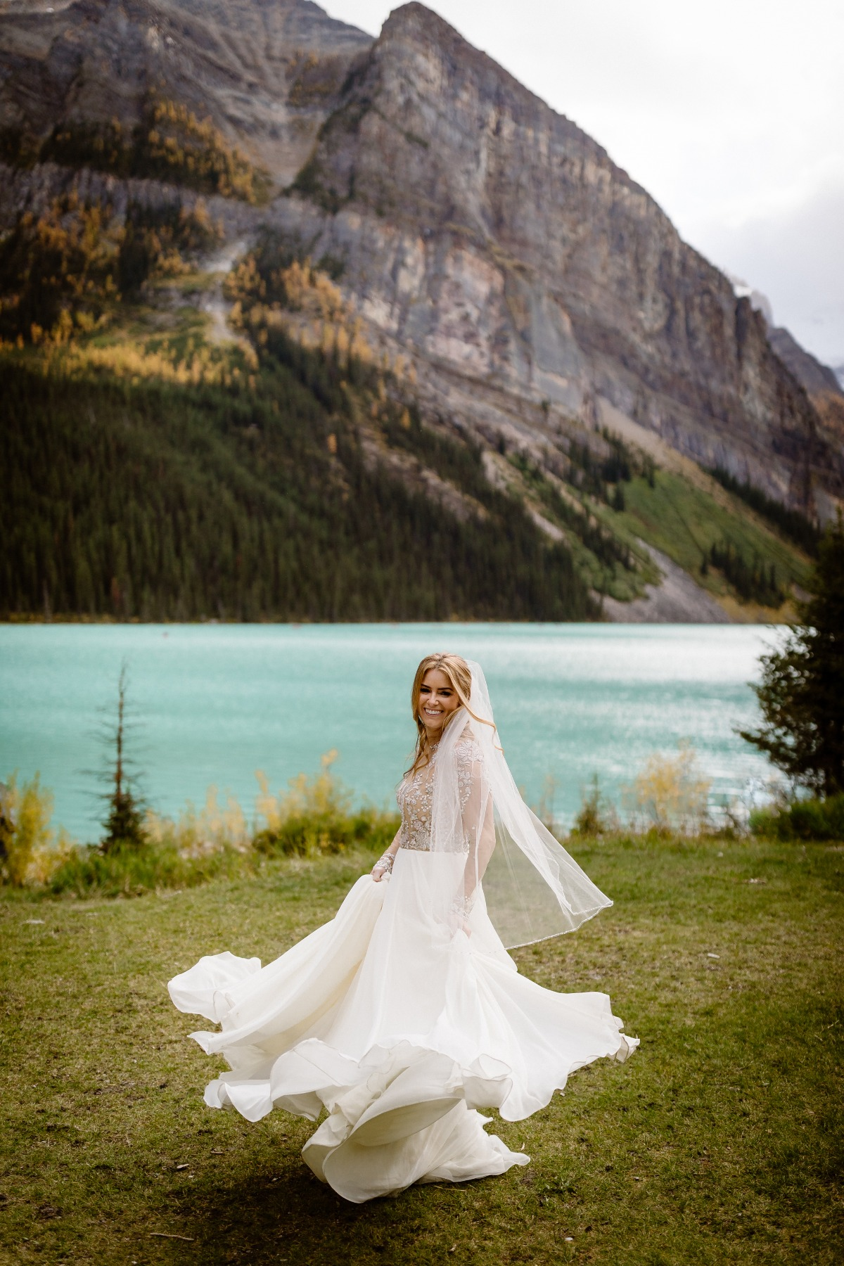 Hailey Paige wedding dress