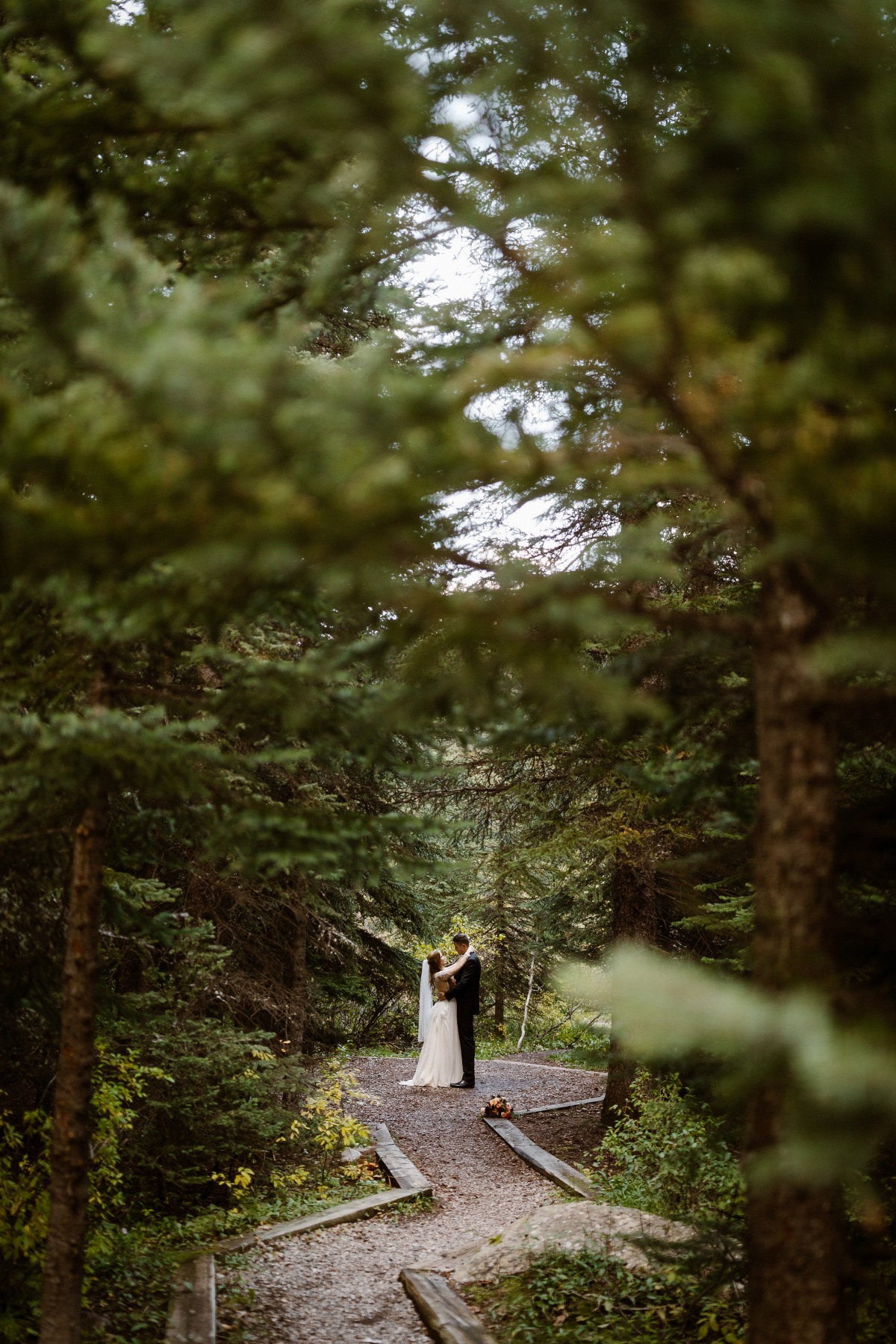 first dance in the forest