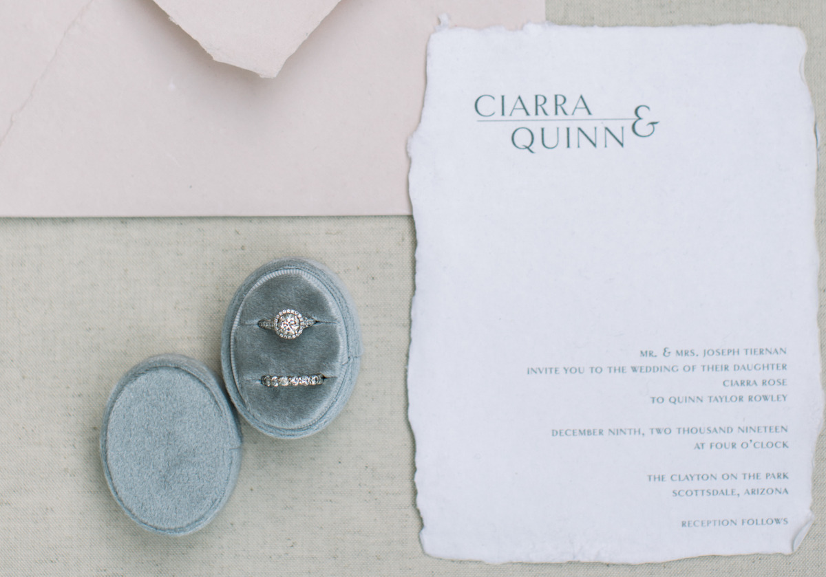 Lauren Yvonne Design wedding invitations