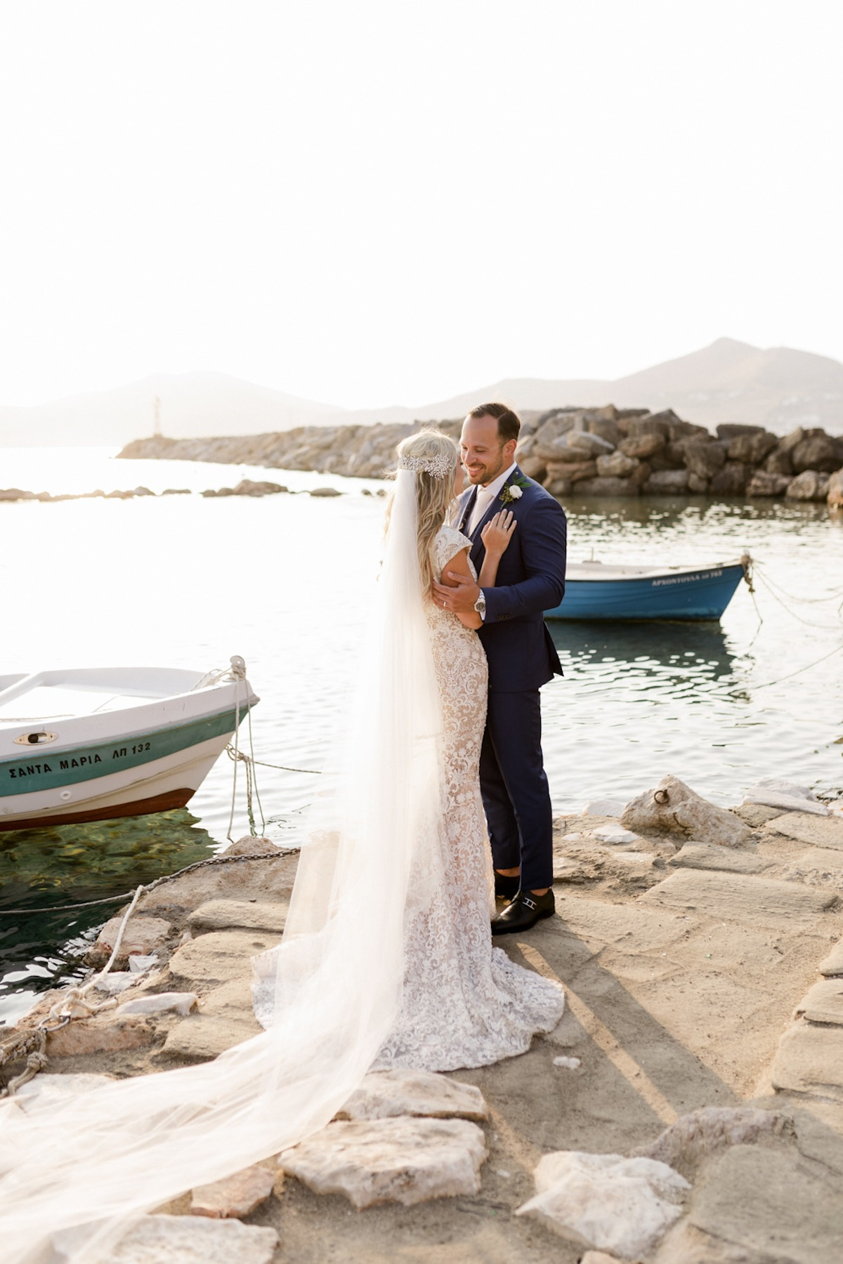 Destination wedding in Naoussa, Greece