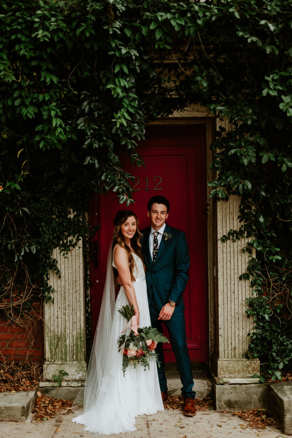 An Urban Garden Wedding With DIY Blooms From Fifty Flowers