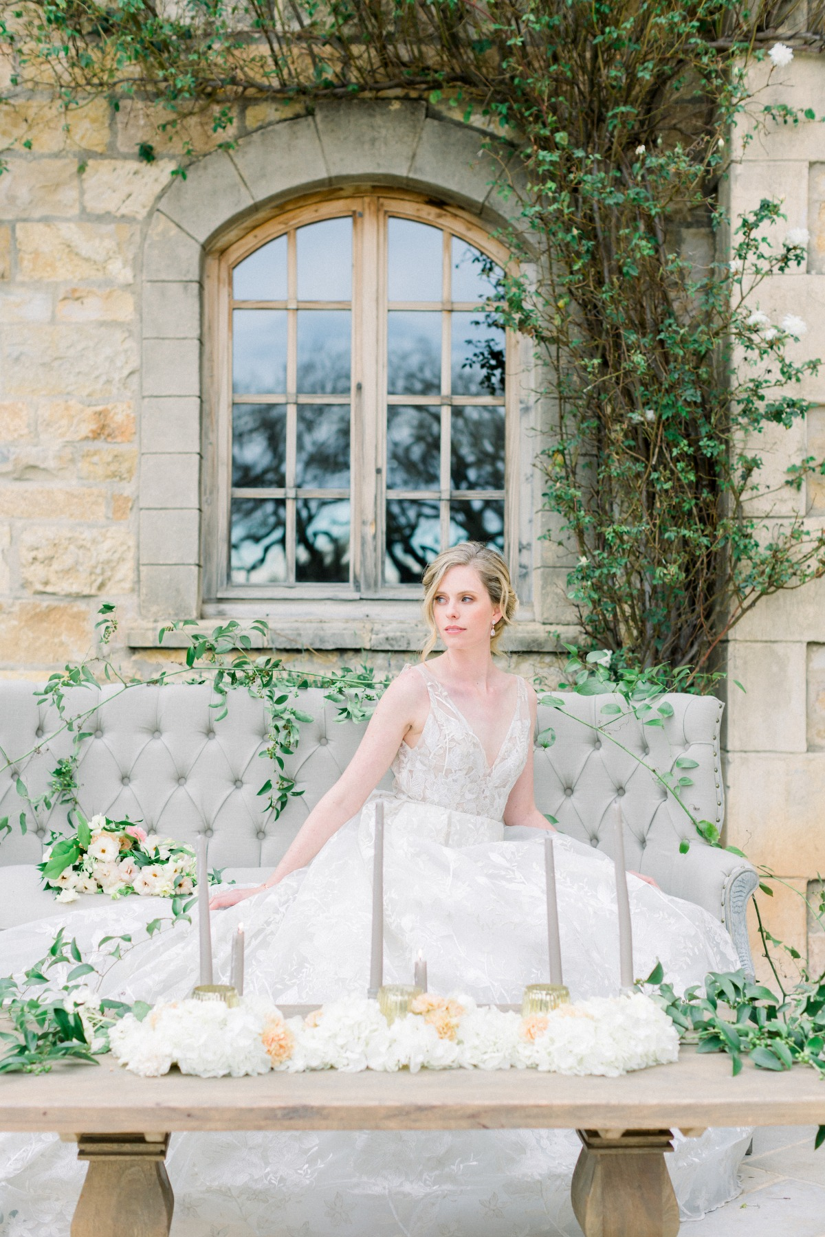 Haley Paige wedding gown styled by Tyler Speier Events