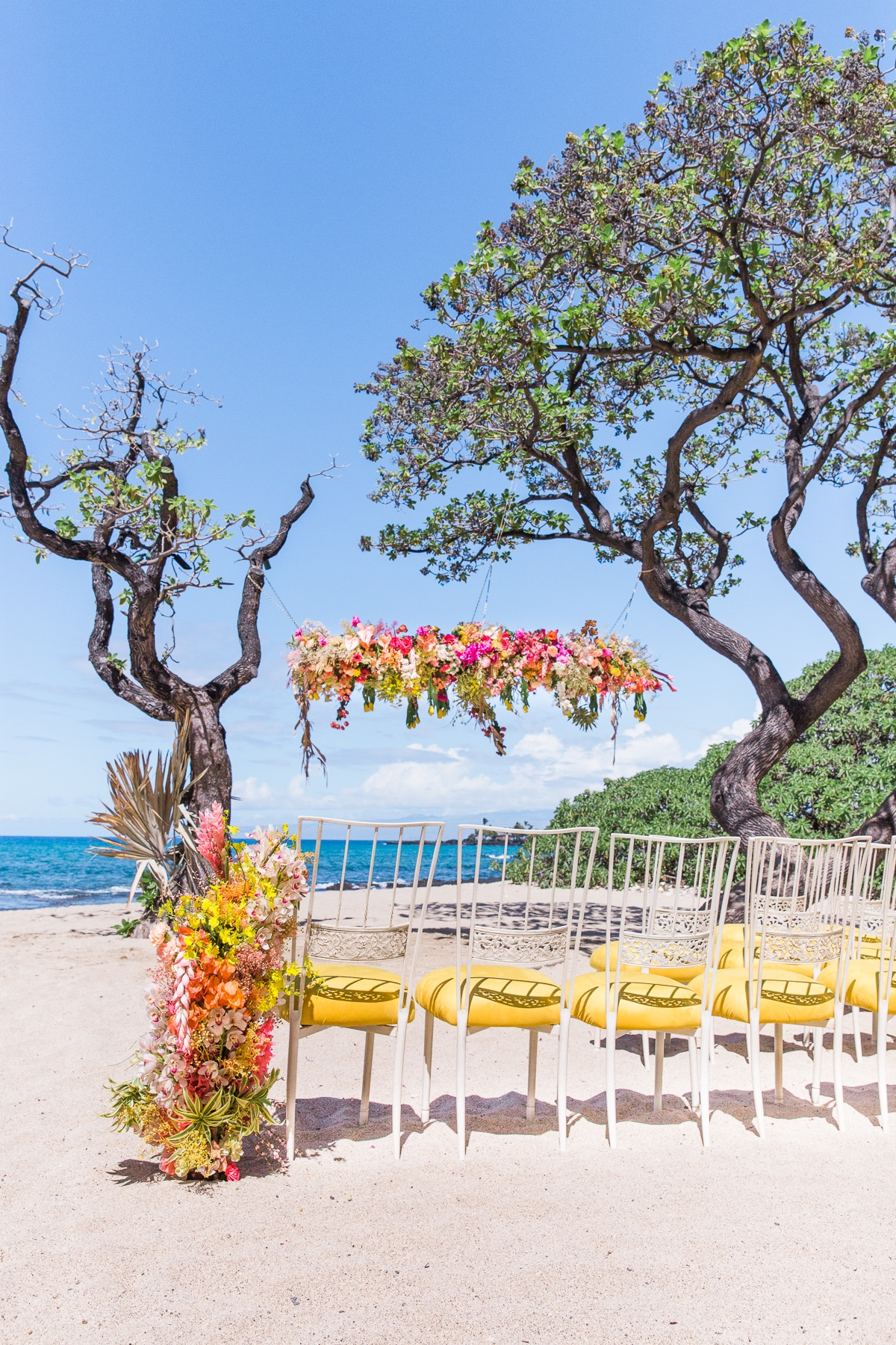 Four Seasons Resort, Hualalai - beach wedding ceremony