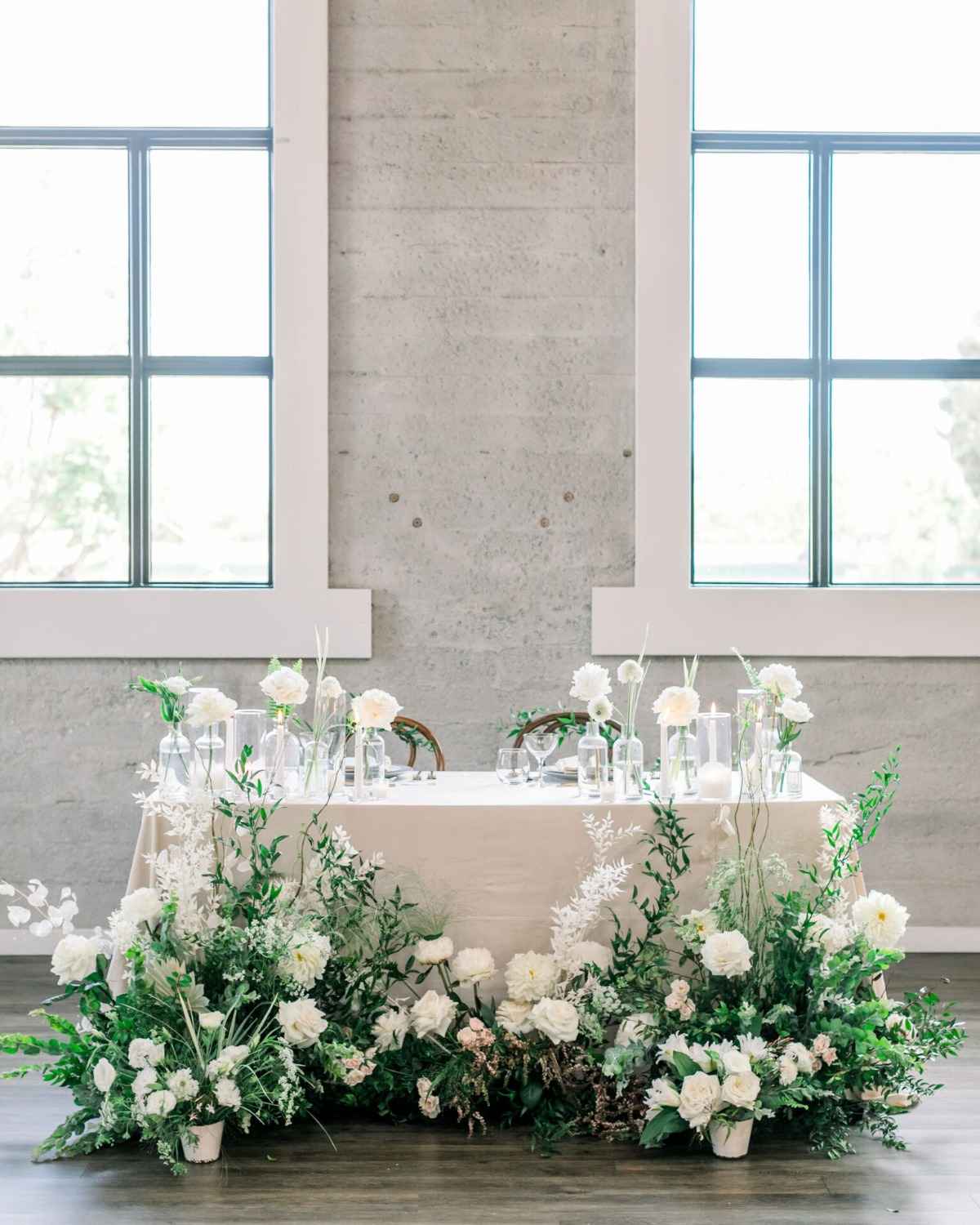 sweetheart wedding table decor ideas