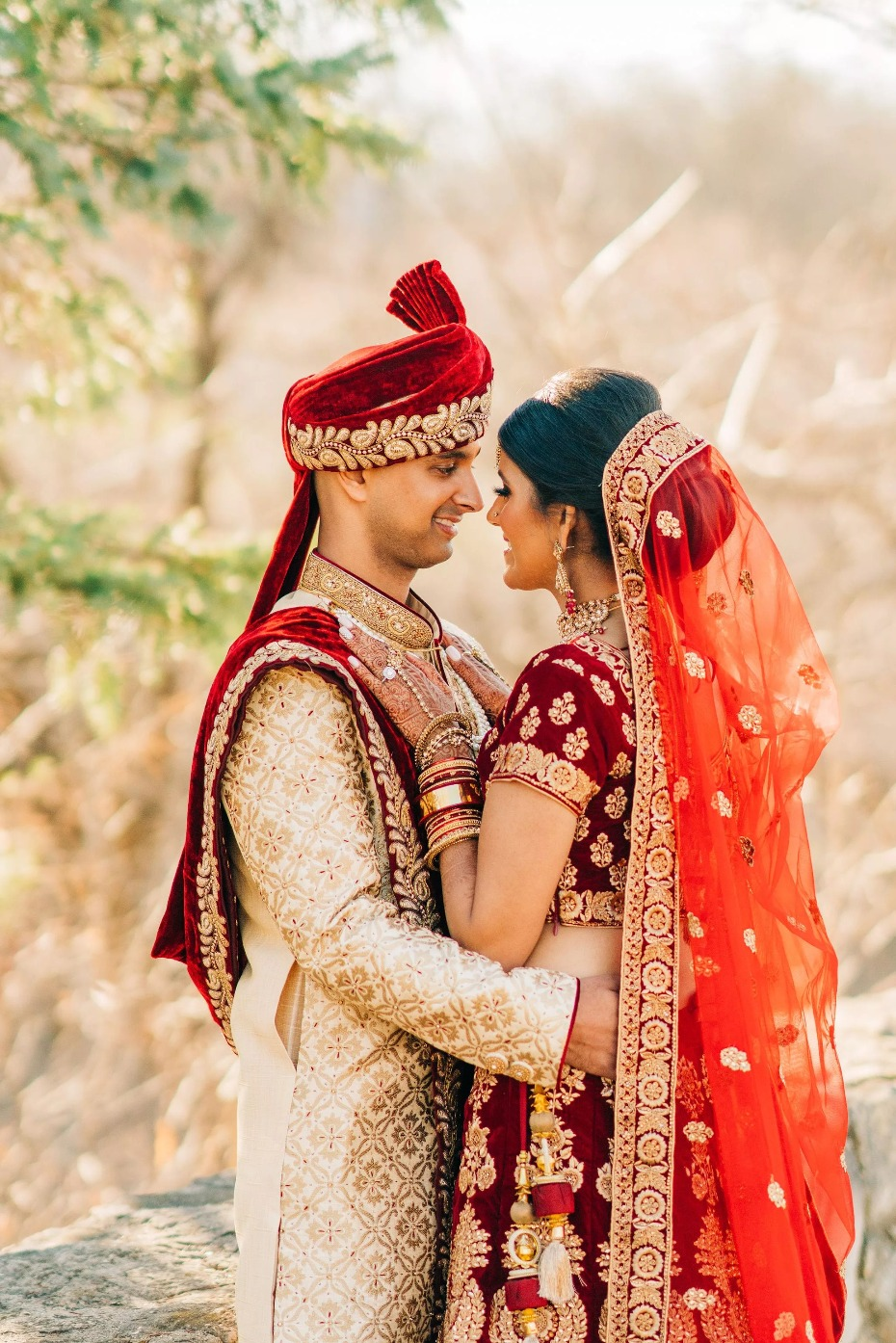 Indian Wedding bride and groom photography ideas