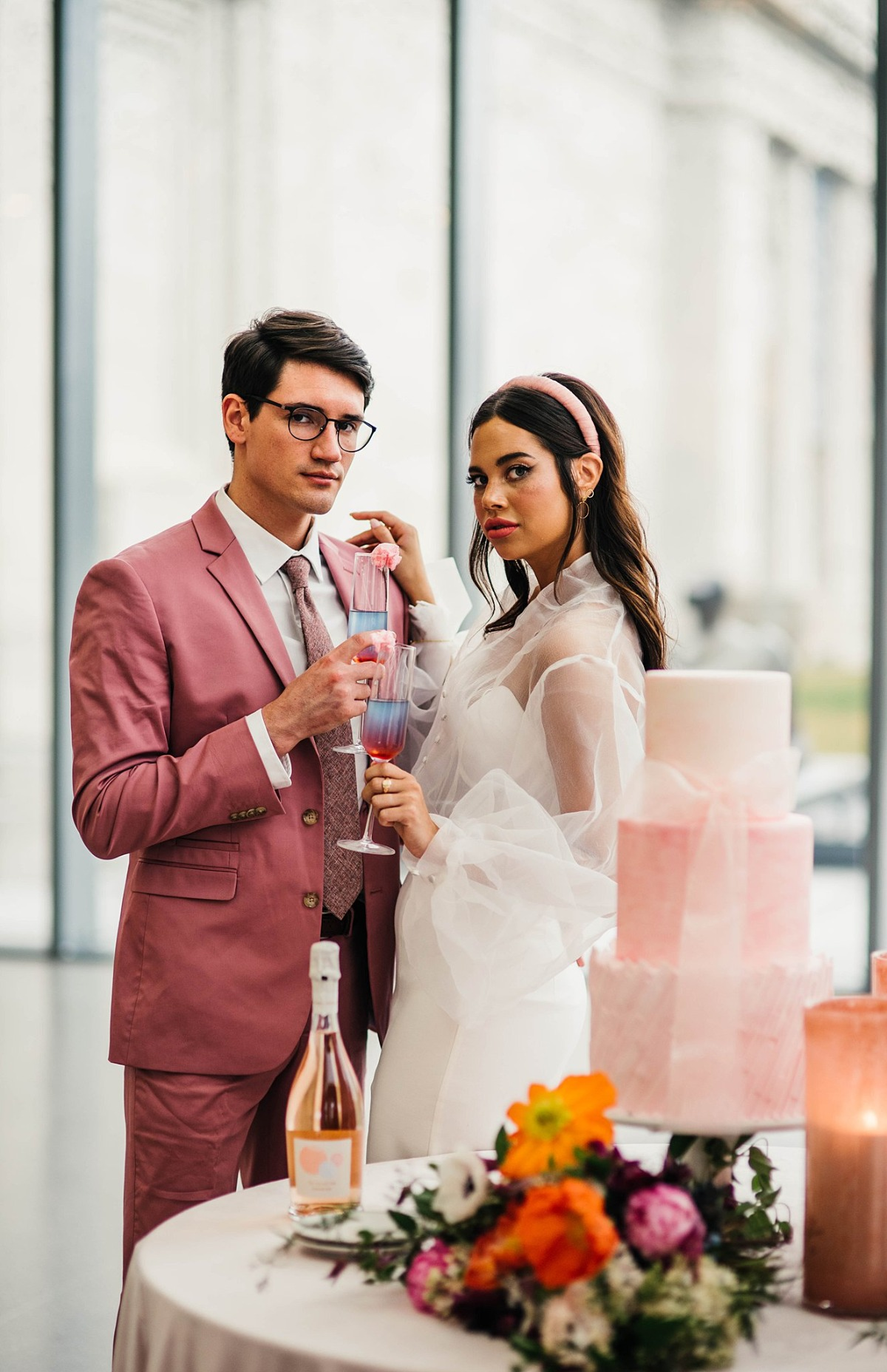 retro wedding inspiration photographed by Love Hunters