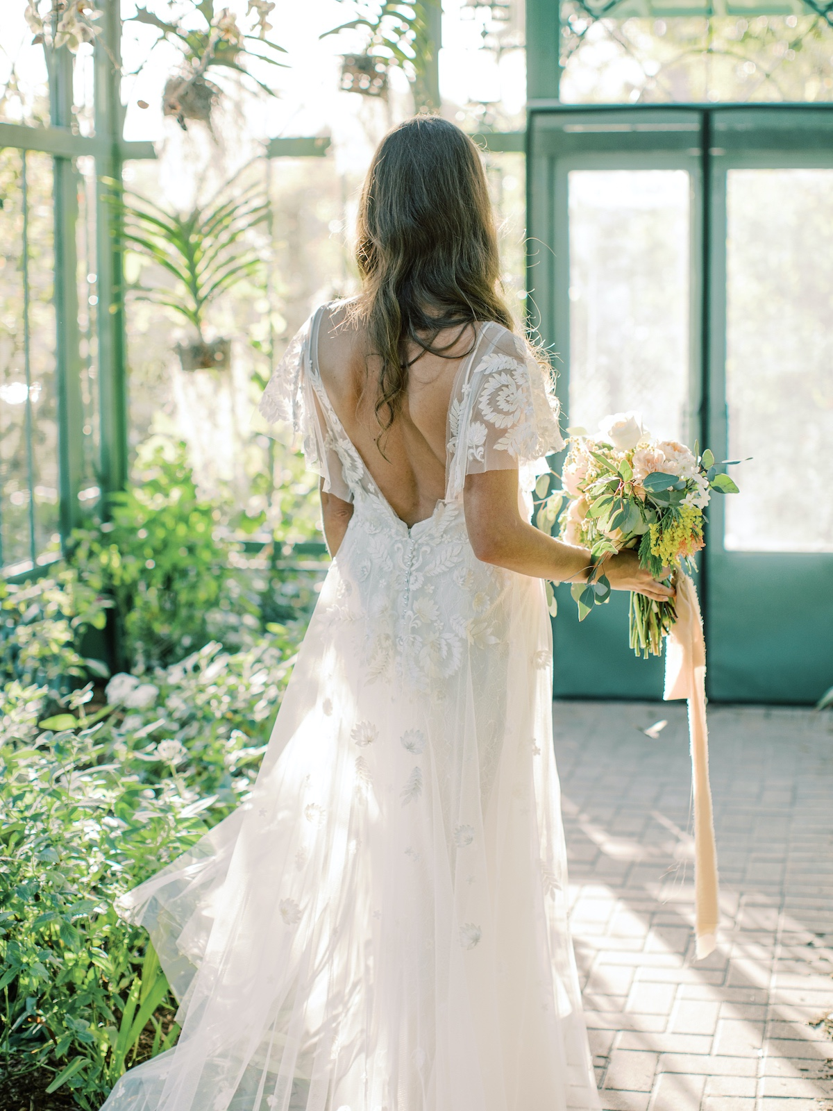 Everglades Wonder Garden styled shoot in butterfly atrium