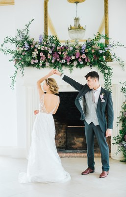The Loveliest Lavender Wedding Ideas at Northbrook Park a UK  Wedding Venue