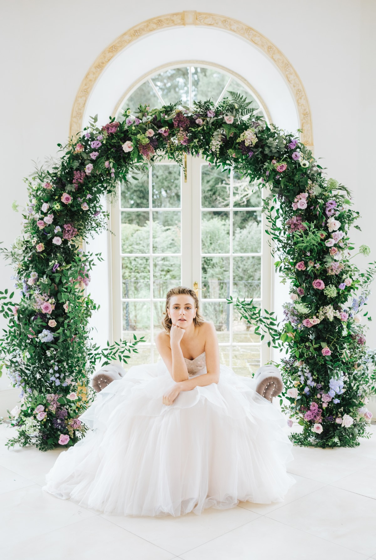 flower arch wedding ceremony ideas