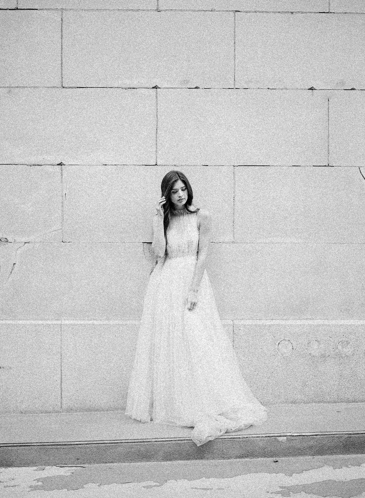 bride in JINZA Couture Bridal - photographed by Jeremy Chou Photography