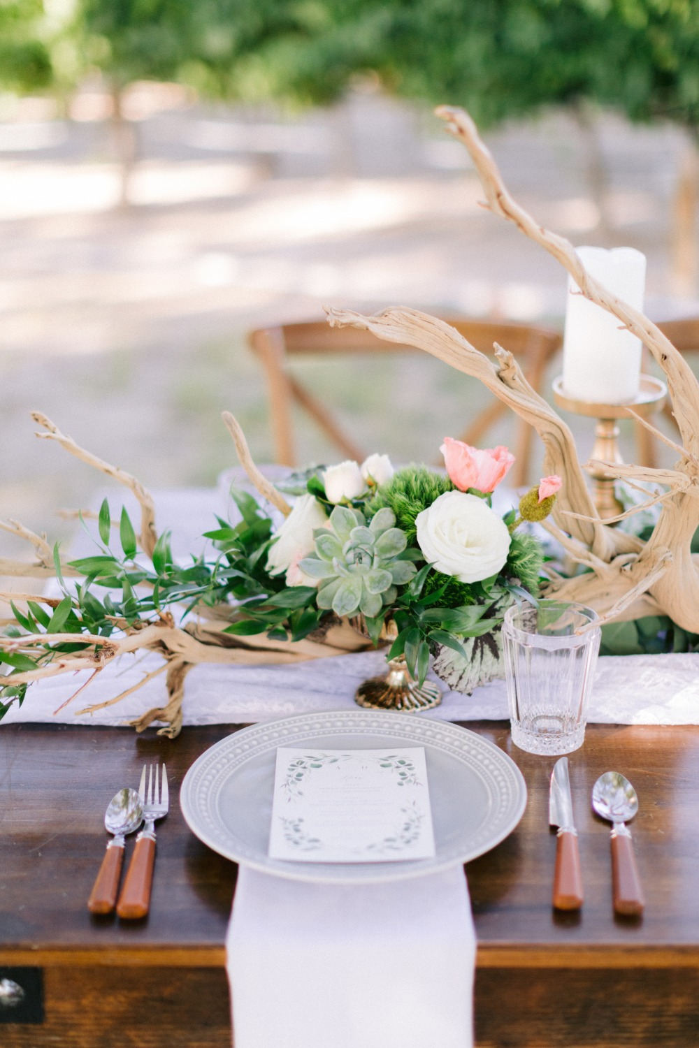 organic table decor ideas
