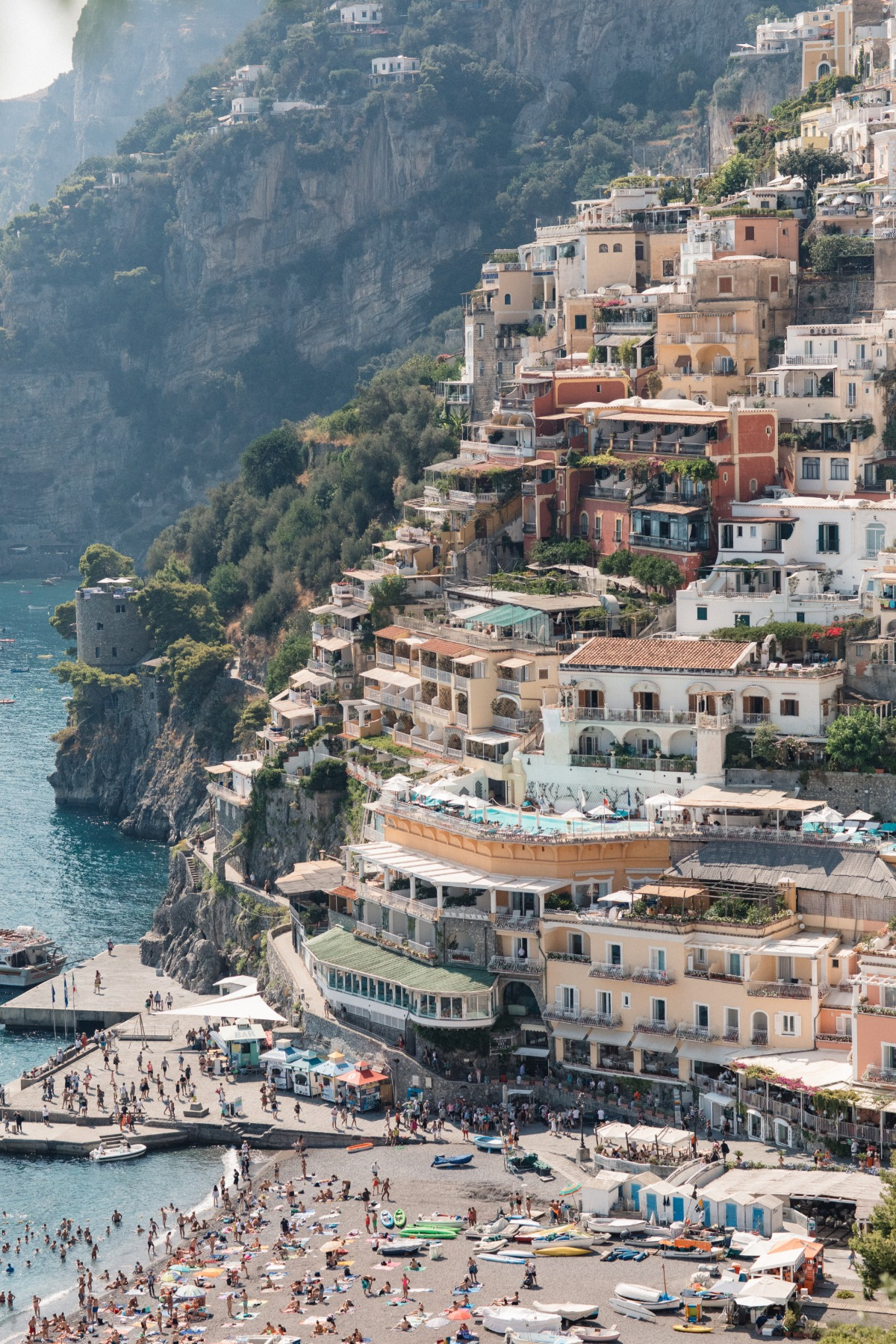 wedding elopement off the Amalfi Coast