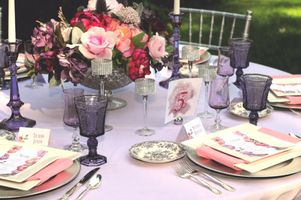 Pink and Purple Wedding Ideas