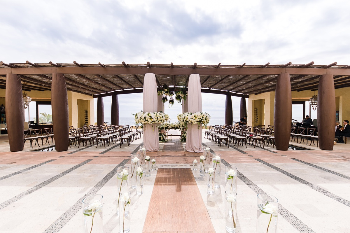 Luxury wedding at the Waldorf Astoria in Los Cabos photographed by A76 Photography