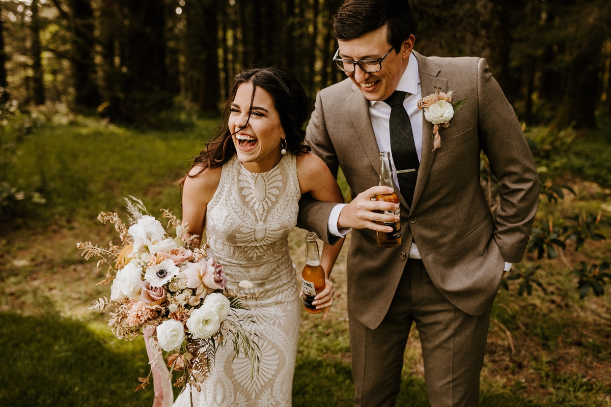 first look at elopement captured by Victoria Carlson Photography
