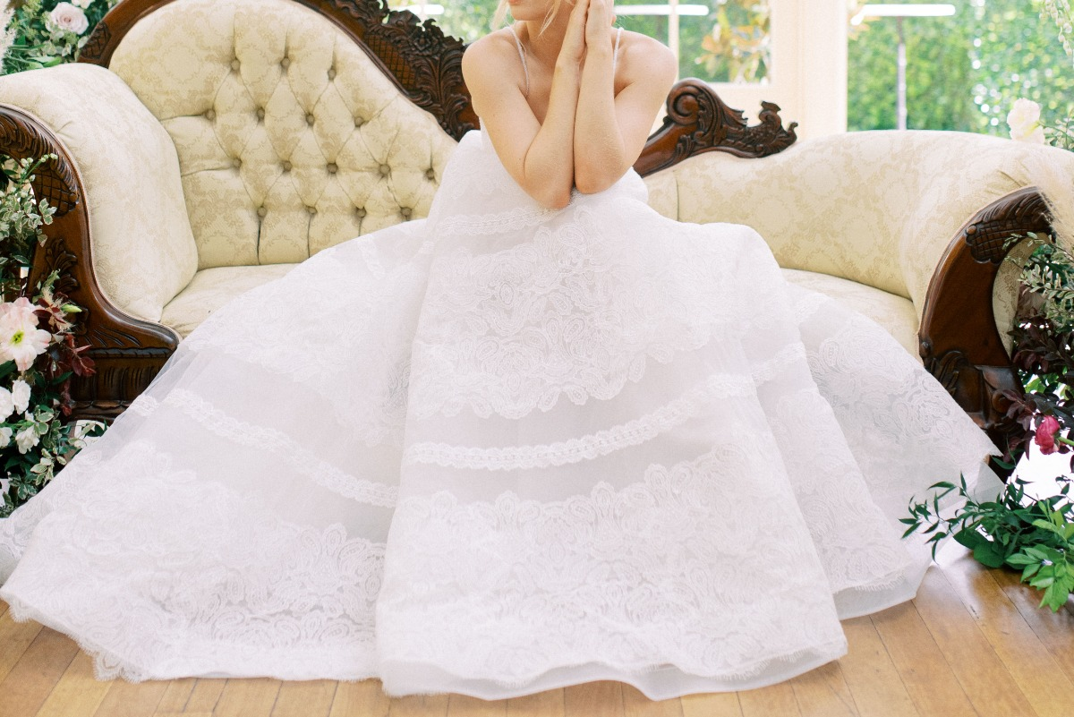 White Lily Couture wedding dress
