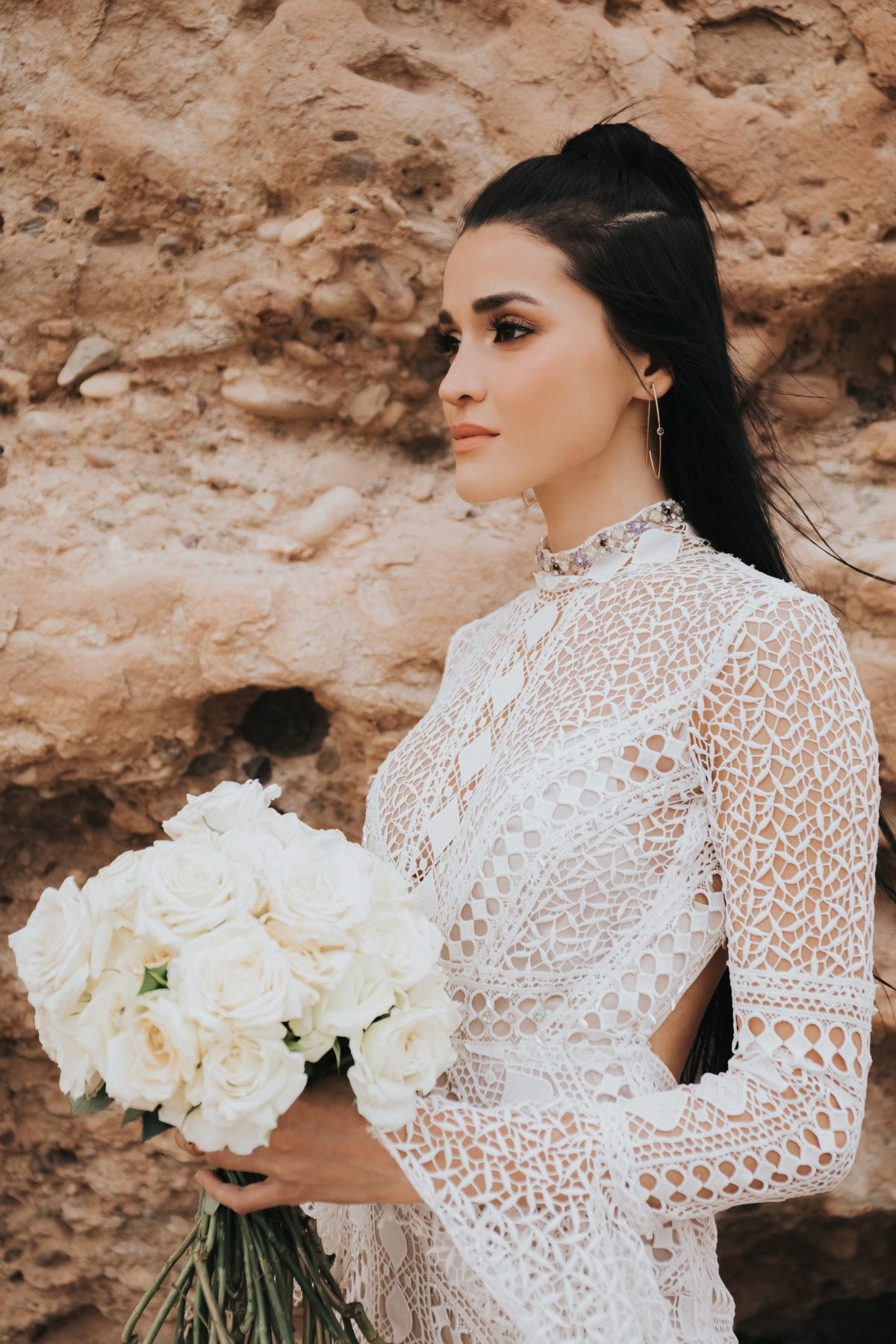 Fashionable Marrakech elopement