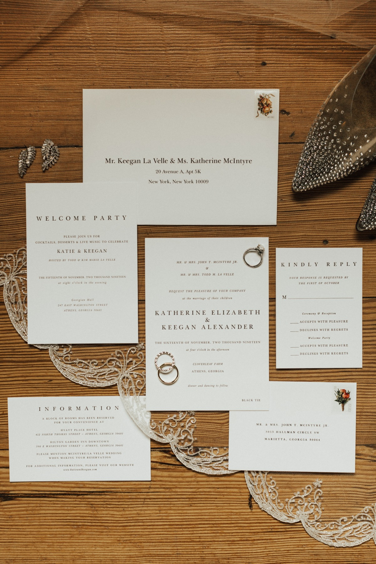 simple wedding inviations