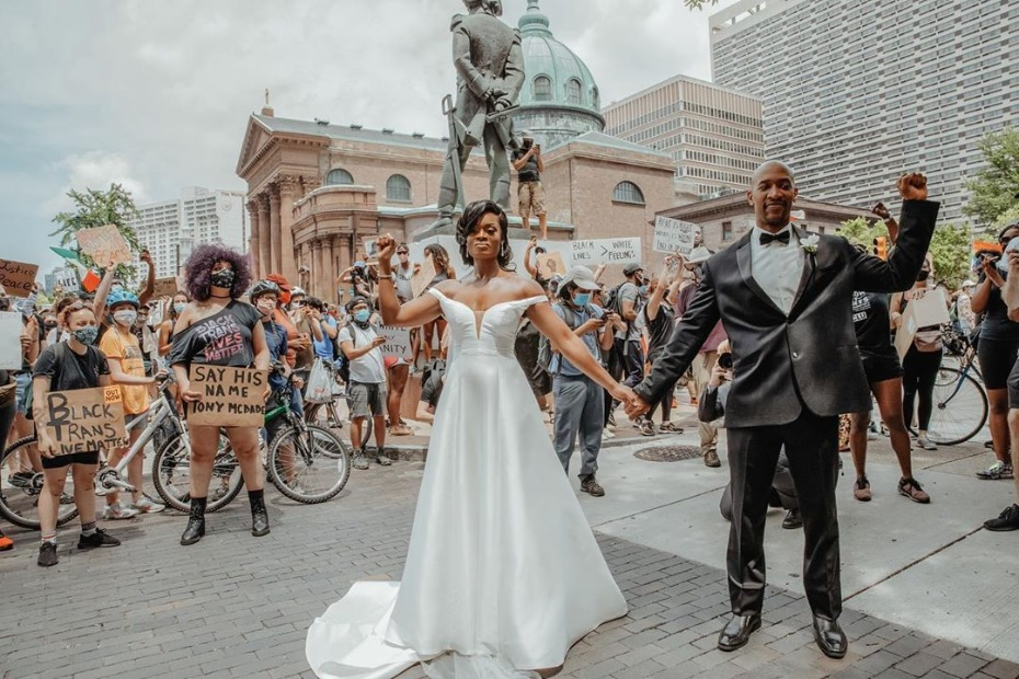 Black Love Matters and This Philly Microwedding Made It So Clear