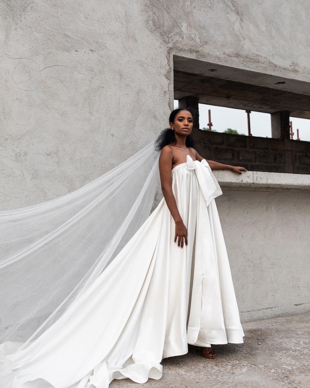 Andrea Iyamah wedding dress