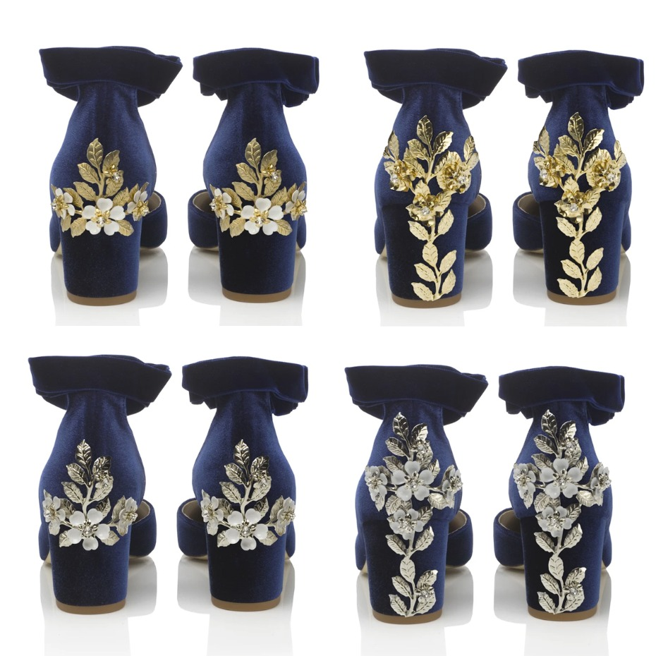 Personalized Wedding Shoes from Harriet Wilde