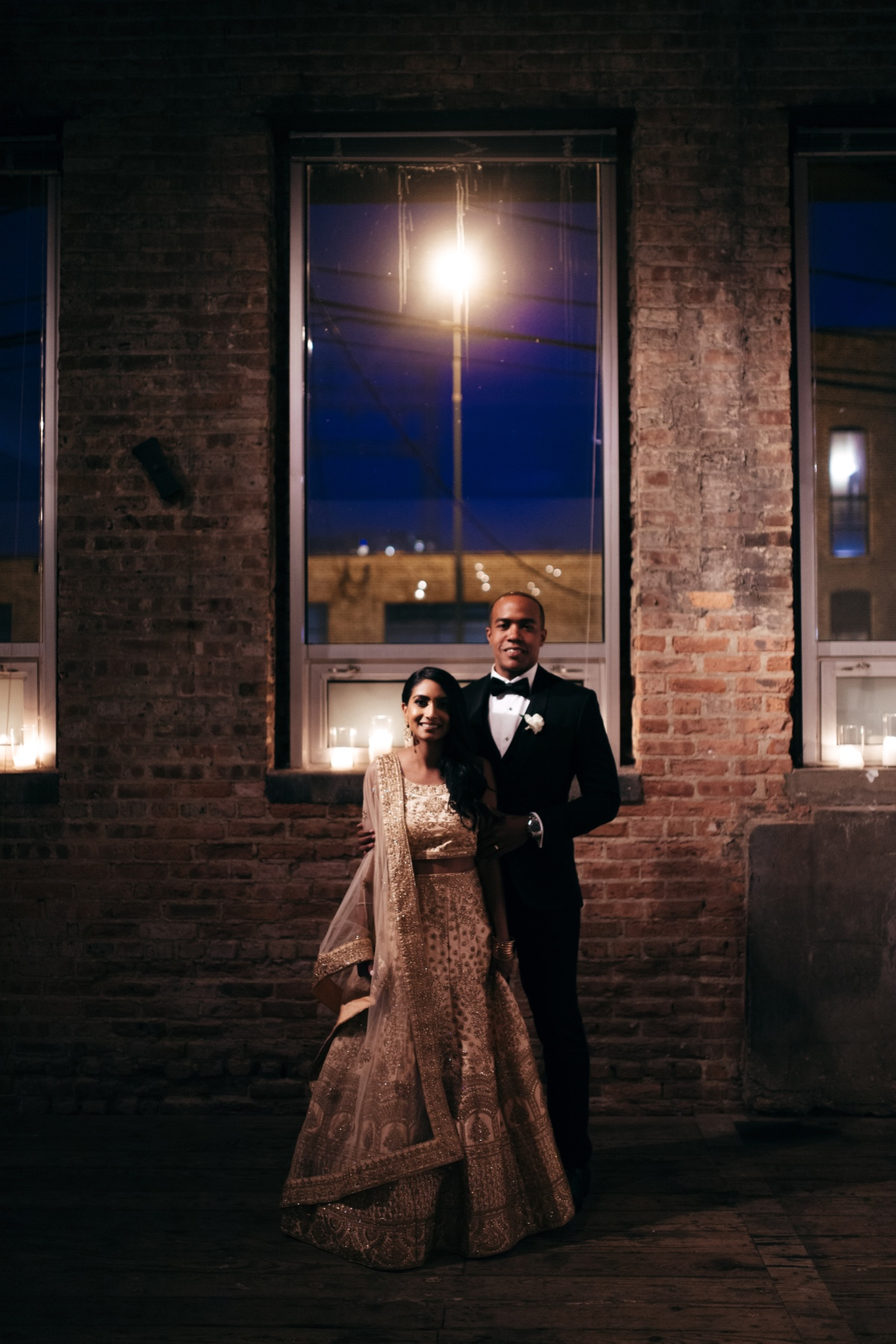 Romantic Meets Industrial: A Modern Multicultural Wedding