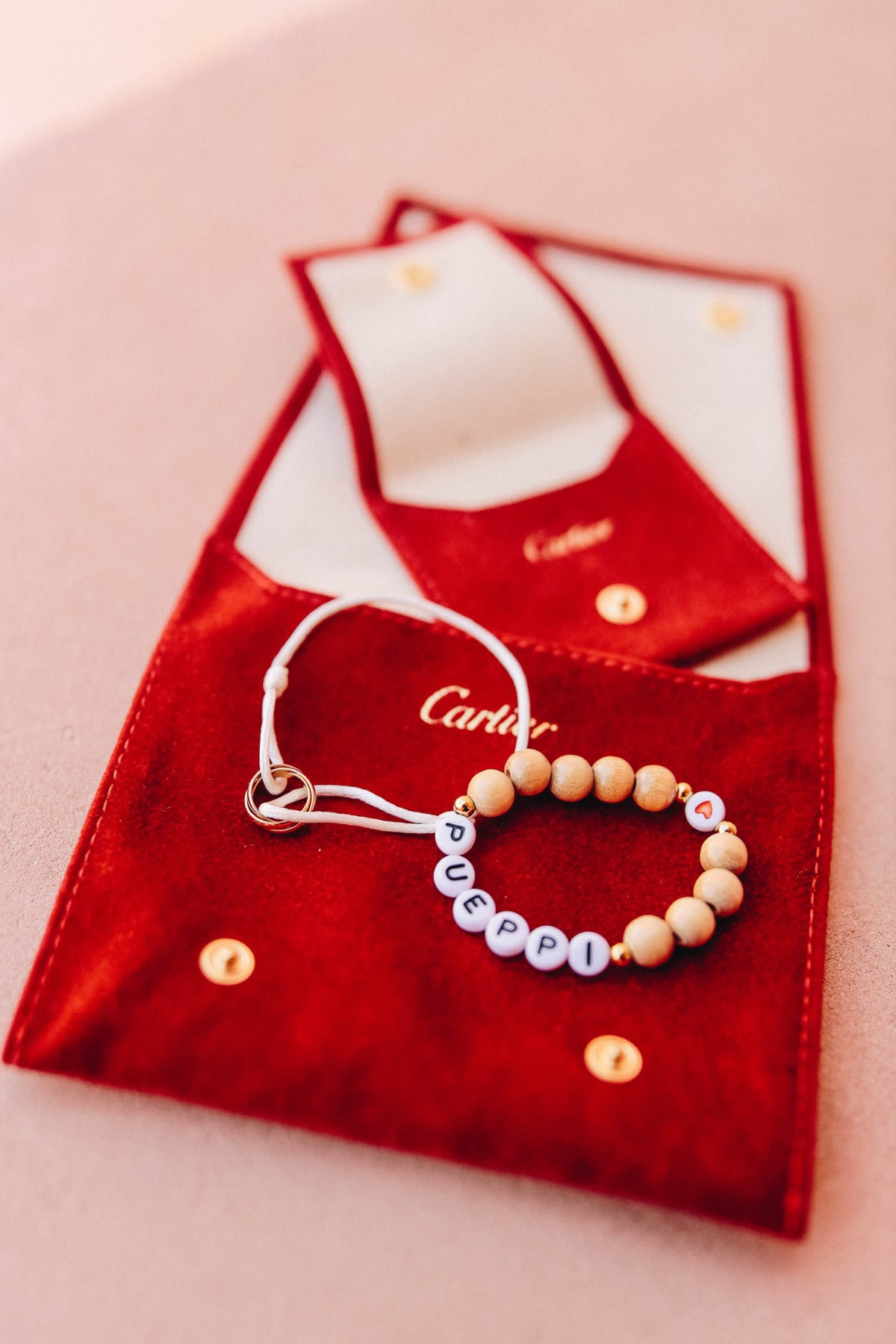 Cartier wedding jewelry for baby