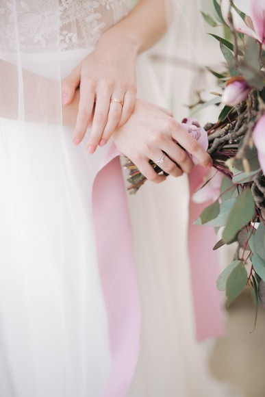 Spring Magnolia Wedding Inspiration at Chateau Villa Bork