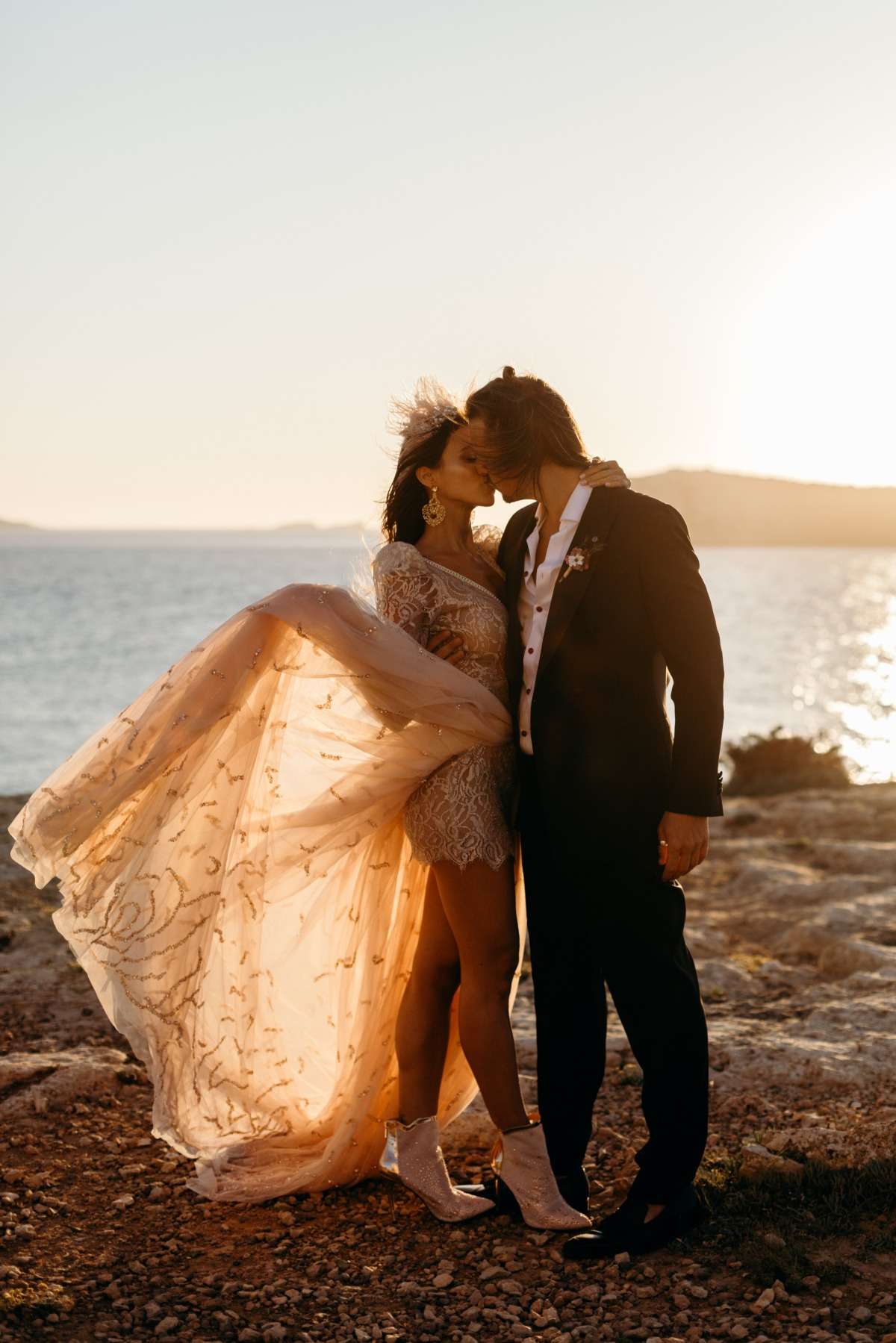 A Wedding Inspiration Tribute to the Lost Spring in Ibiza