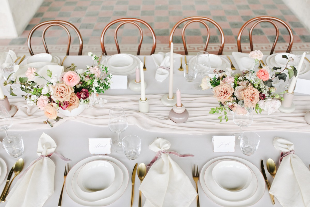 wedding table styling ideas