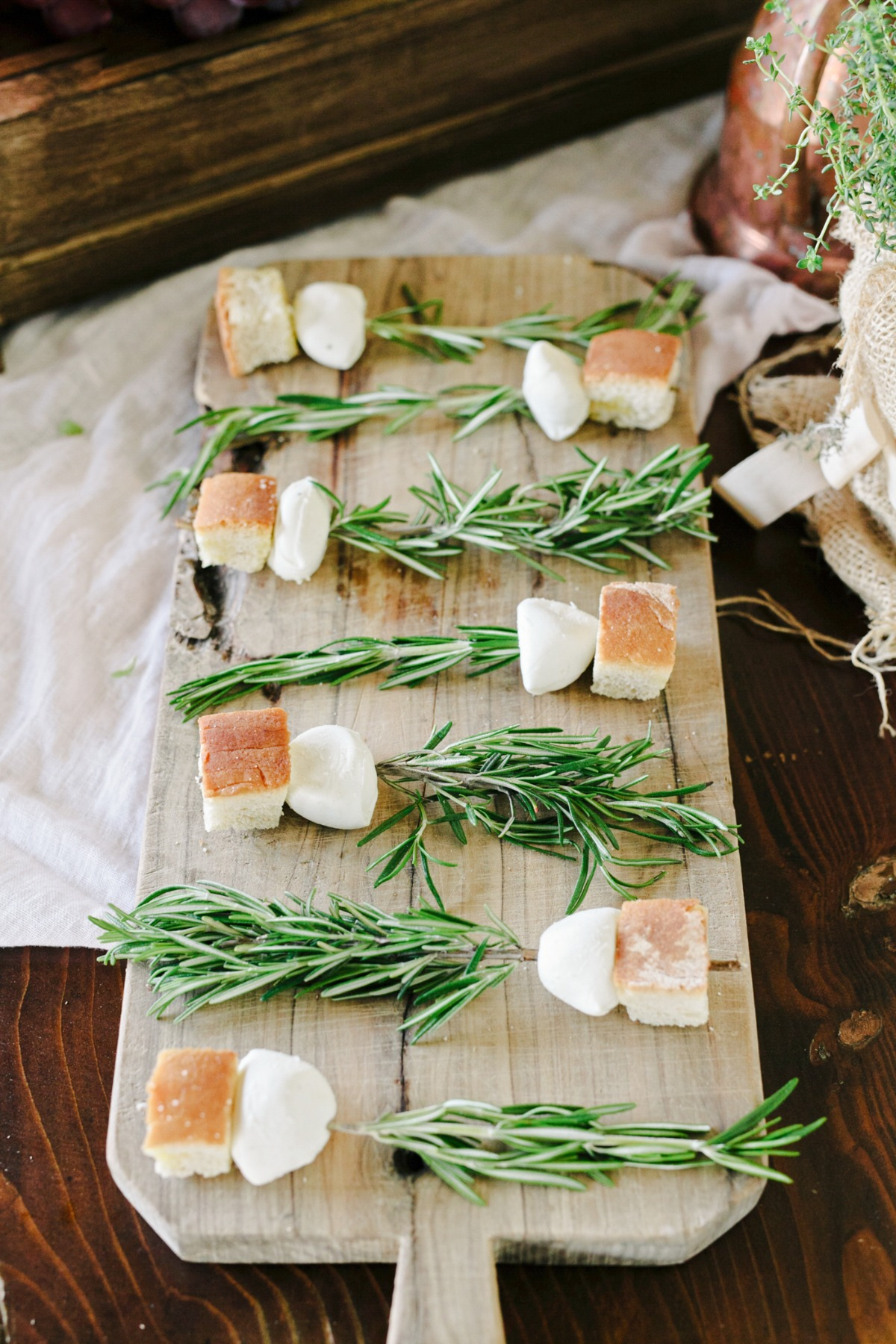 bread and rosemary