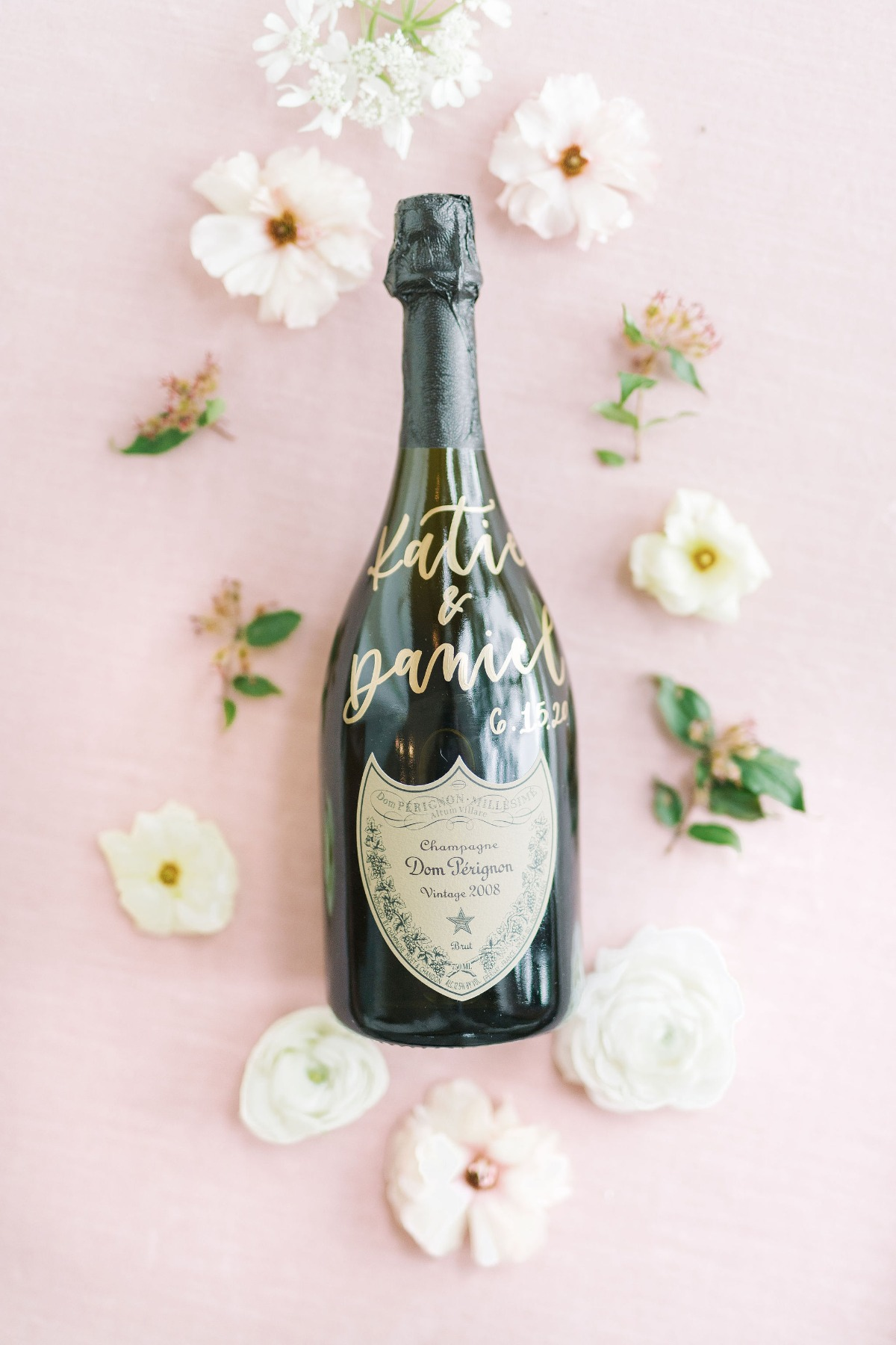 Don Perignon flat lay styling ideas