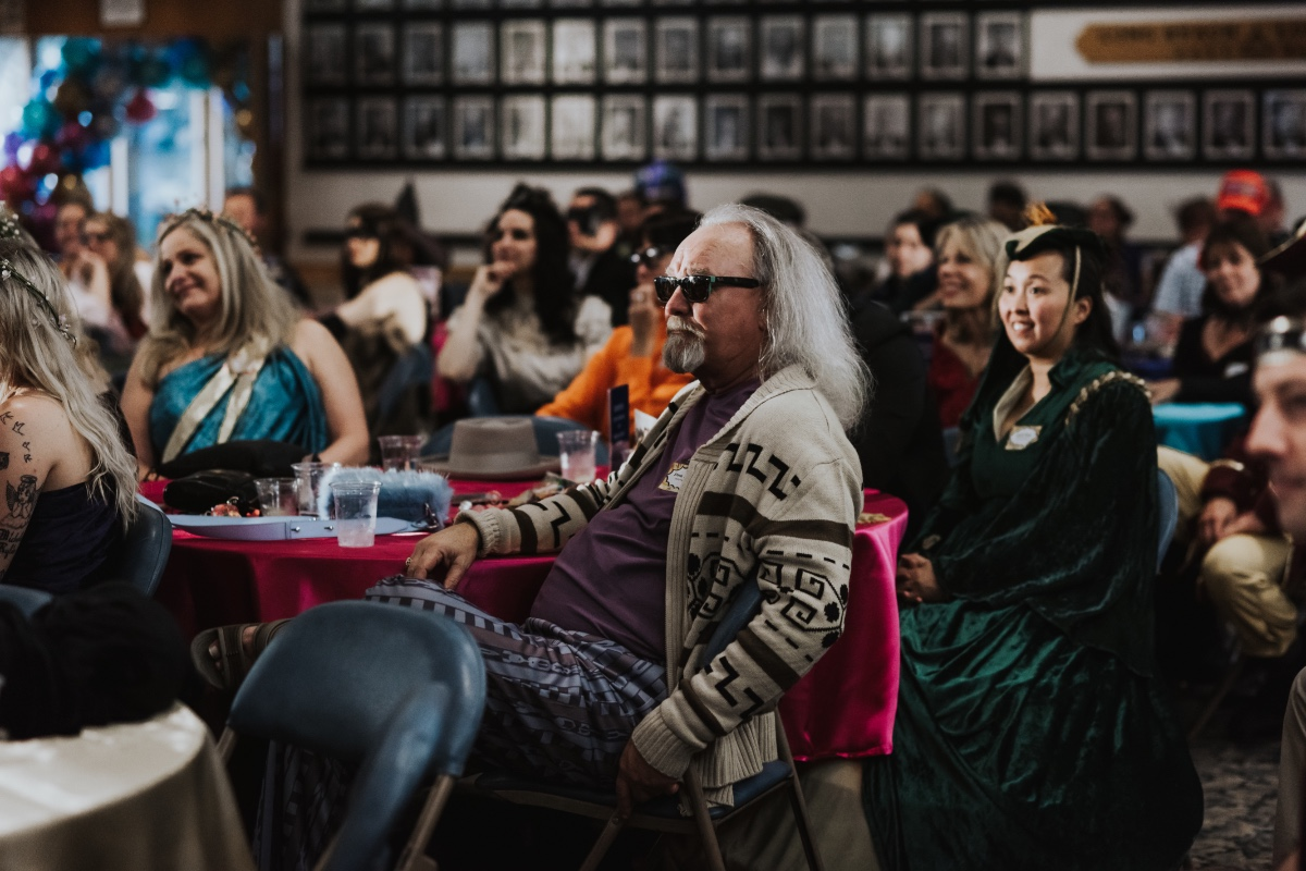 The Big Lebowski was at this 80's inspired costume wedding