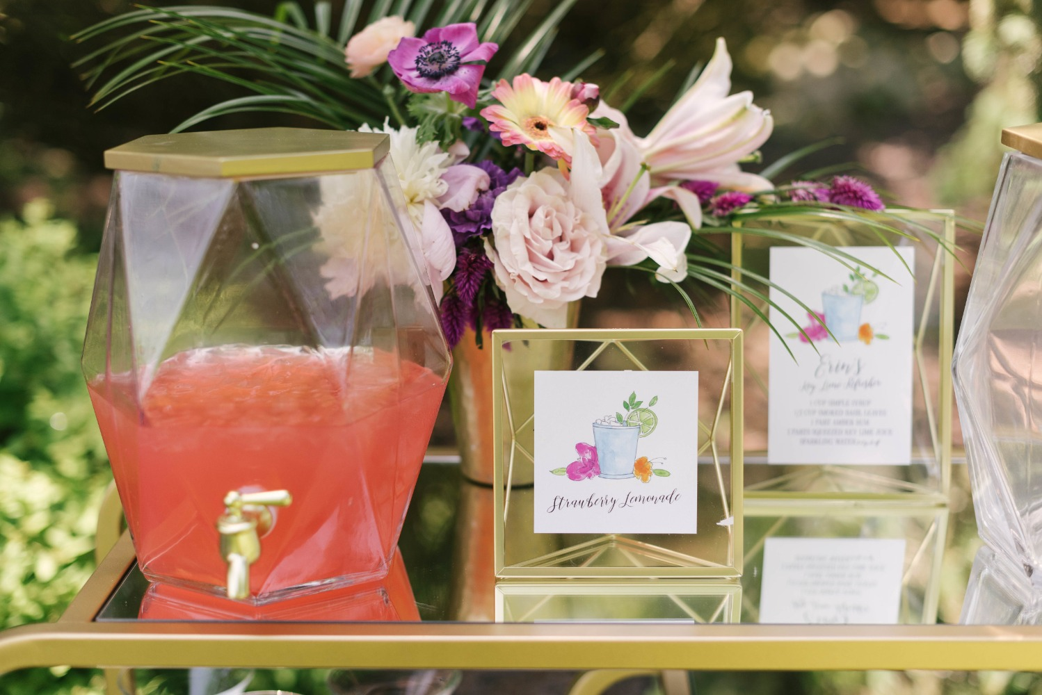 drink ideas for bridal shower