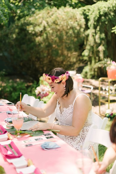 Relaxing Tropical Bridal Shower