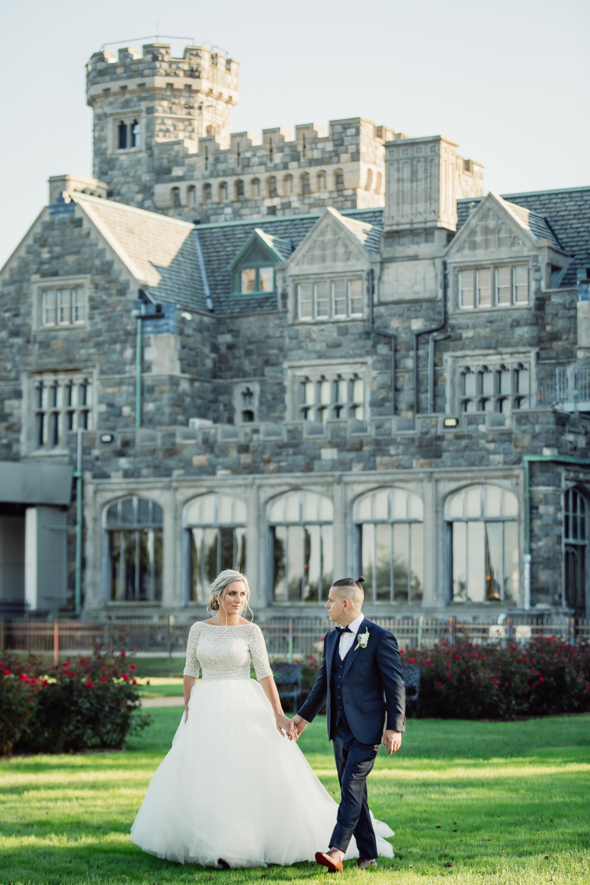 Castle Wedding at Hempstead House at Sands Point Preserve