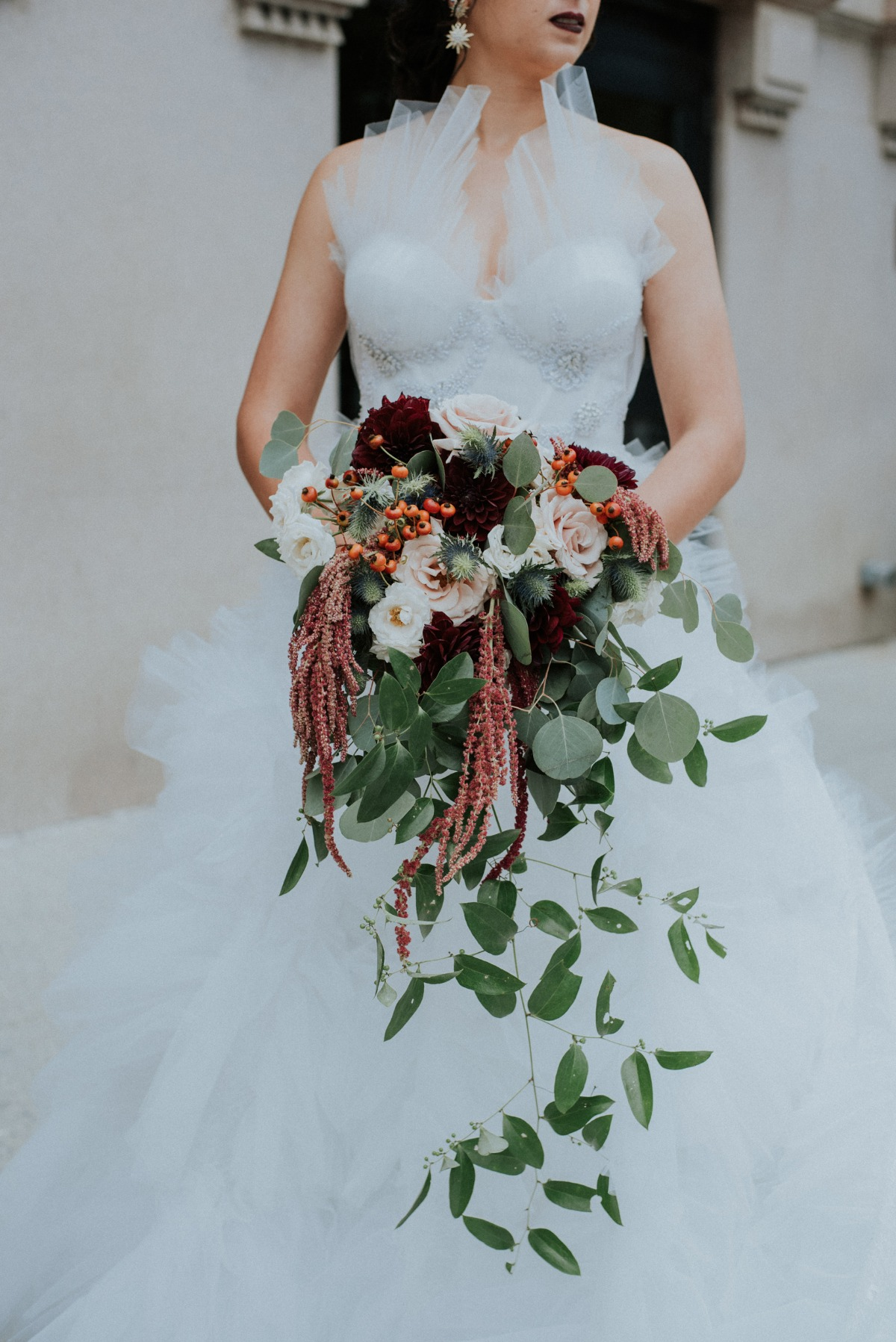 fall wedding bouquet designed by Persephone Floral