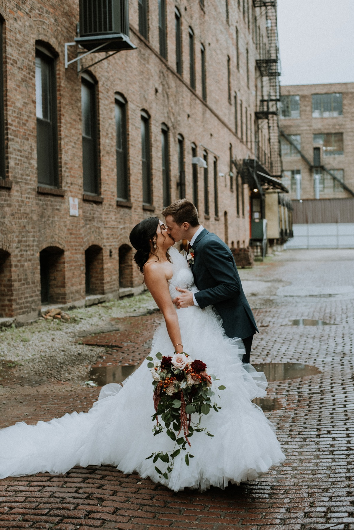 Moody and Chic Chicago Wedding at Half Sour