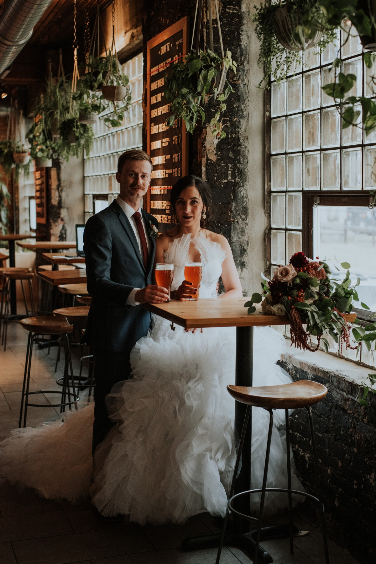 Will & Grace's Moody and Chic Chicago Wedding at Half Sour