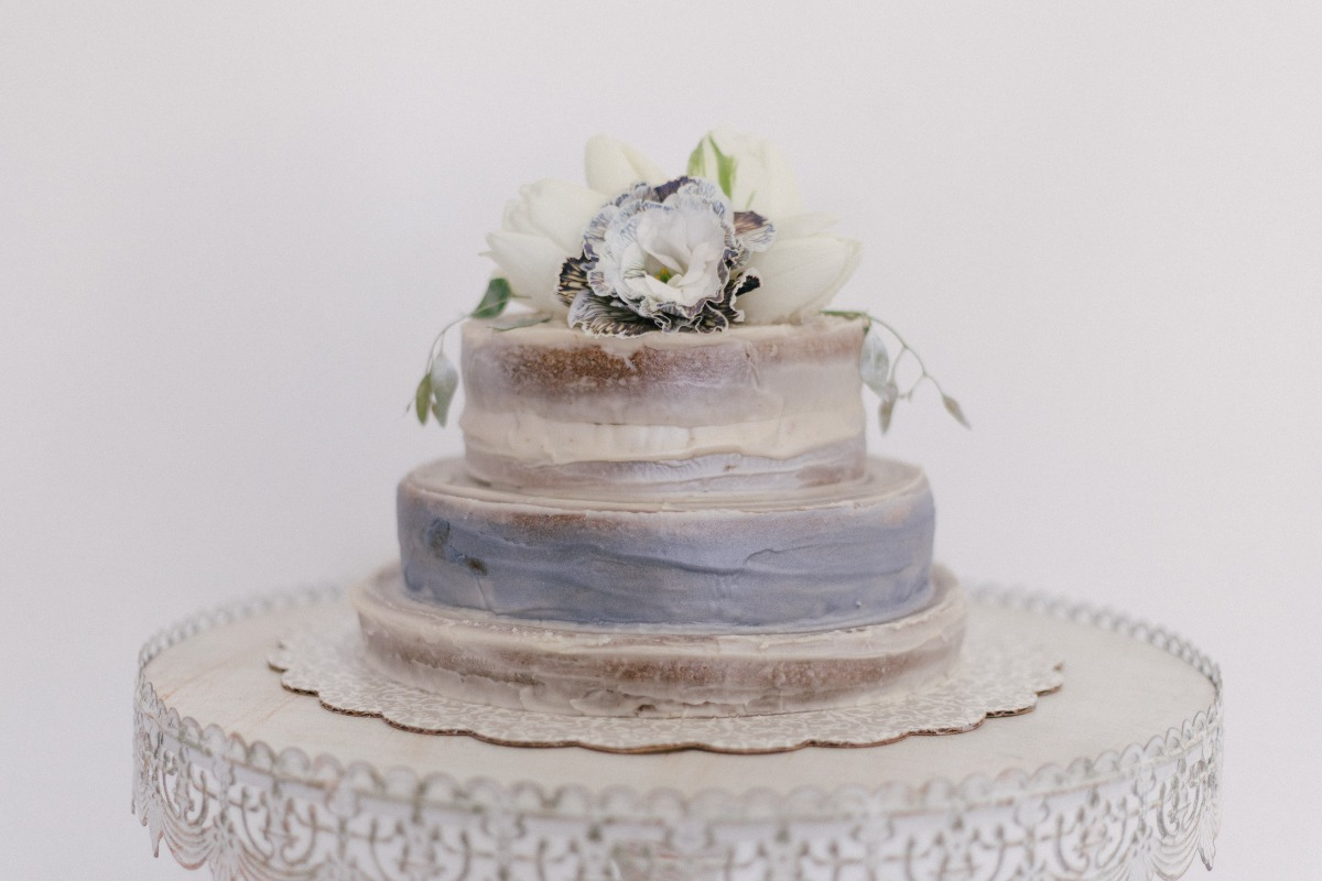 organic wedding cake ideas